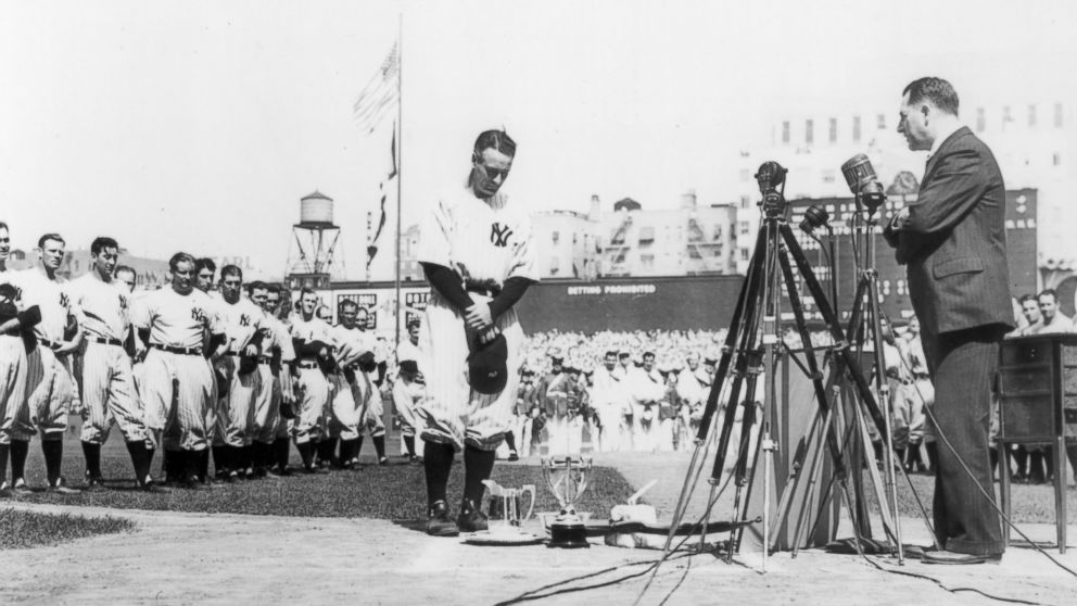 Lou Gehrig Speech